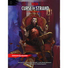 Dungeons and Dragons 5th Edition Curse Of Strahd